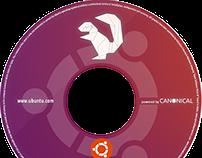 Printable cover DVD of Ubuntu 16.04 system Xenial Xerus
