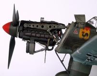 Junkers Ju87B-1 Stuka Dive-Bomber