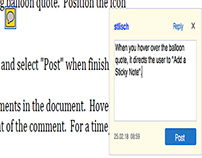 Adding Comments to a PDF Document