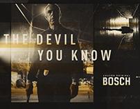 Bosch: Season Three Social Media Campaign