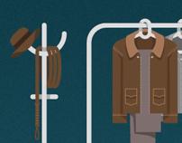 Adivinhe o personagem do cinema pelas roupas
