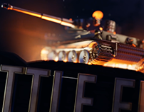 3D Logo Design | BattleFleet Ground Assault