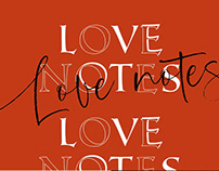 FONT - Love Notes