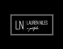 Lauren Niles Portfolio: Design/Layout