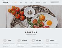Catering Company Joomla Template