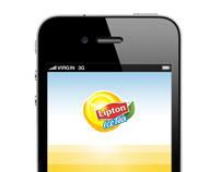 App mobile Lipton Ice Tea