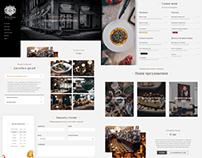 Сайт для бара-ресторана PORTWEIN