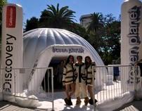 Frozen Planet | Multimedia Station for Program Launch