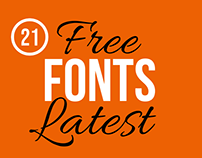 21 Latest & Free Fonts for Creative Typography Design