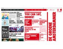 DE GROENE AMSTERDAMMER - Web newspaper