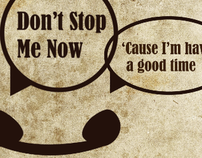 Don't Stop Me Now- Kinetic Typography