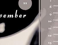 Missing My Chemicals: Tom Holmlund Calendar