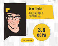 Student Profile - Free Template