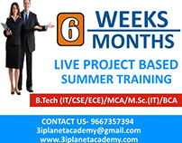 Summer Training in Udaipur | Industrial Training Udaipu