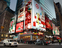 Target Holiday Times Square
