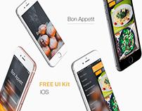 Mobile app - Bon Appetit