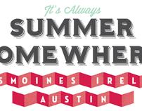 Summer Type-Graphic