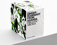 Kille Enna – Identity and Packaging for Organic Aromas