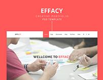 Effacy Website UX/UI