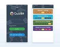 QuizBit | App UI Design
