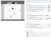Agenda and Task Design