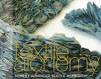 Textile Alchemy - Exhibition Promotional Material