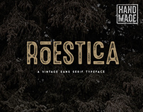Roestica Vintage Typeface