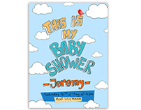 Baby Shower Invitation - JEREMY