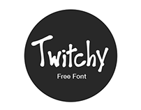 Twitchy Typeface (Free Font)