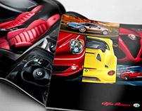 Alfa Romeo Catalogue Design 2015