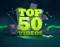 Top 50 Videos '11