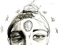 Studi Versum - Jetlag Illustration