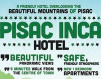 Poster for Pisac Inca Hotel in Peru