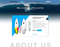 SurfaceDemo PSD Template