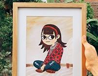 Dibujo a Pedido: Melania Urbina