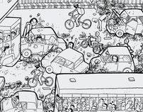 Kurangi Polusi dengan Bersepeda Tiap Hari