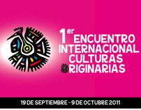 1er. Encuentro Internacional Culturas Originaras