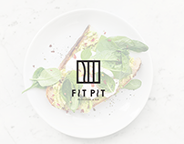 Visual identity redesign - Fit Pit Restaurant