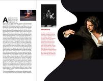 Maquette d'une revue de Flamenco