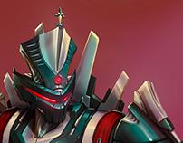 Character Design: Hi-Tech Priest (2018)