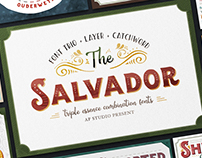 The Salvador - Font Combinations