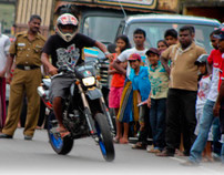 Open Road Bike Stunts