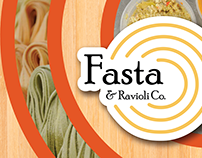 Fasta & Ravioli Co. Print Media
