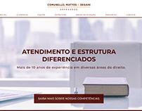 Website CMD Advogados