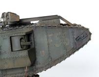 WW1 MkIV Male Tank