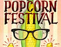 Valparaiso Popcorn Festival Poster