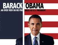 Barack Obama Magazine Spread
