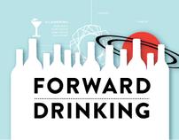 Forward Drinking: Web Design & Illustrations