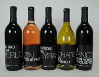 Haus of Marquis Wine Bottles