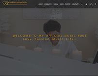 Web Design for Kaveh Piano
